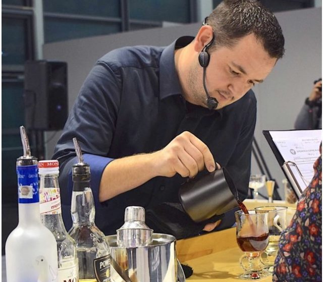 Dan Bacaintan, il campione italiano 2018 di Coffee in good spirits