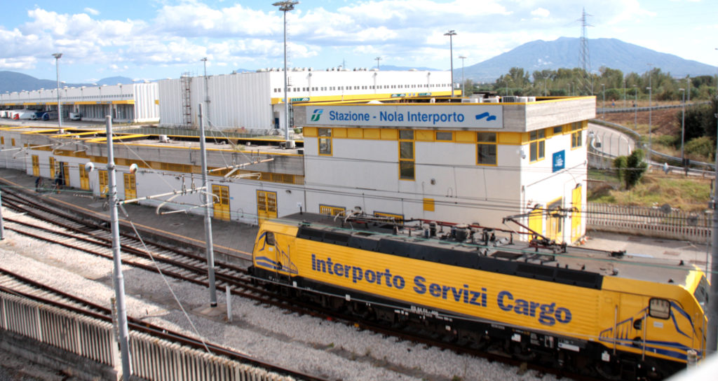 Interporto campano di Nola: la stazione delle Ferrovie dello Stato