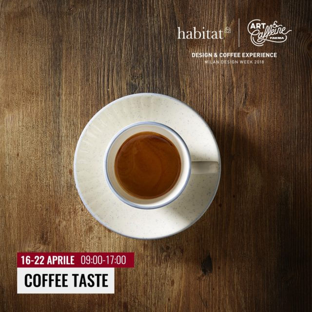 Art & Caffeine 2018 presentazione coffee taste