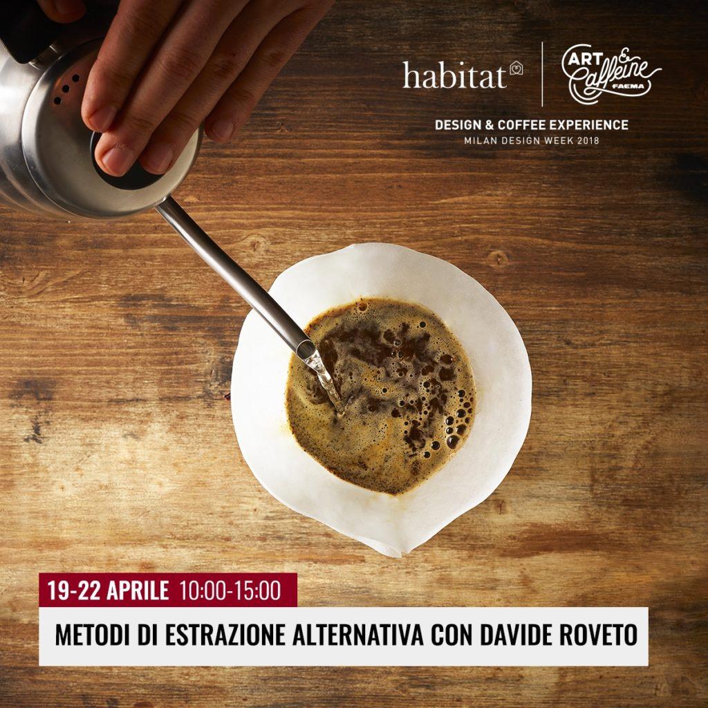Art & Caffeine 2018 presentazione appuntamenti Davide Roveto