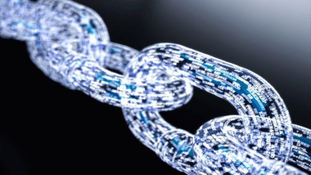 India blockchain Un'immagine simbolica della blockchain