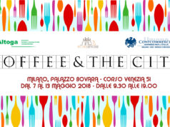 Il bannner di Coffee & the city organizzato da Altoga