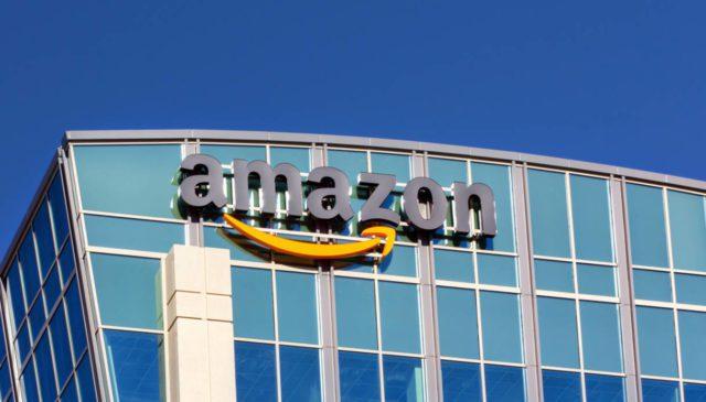Uno dei magazzini Amazon