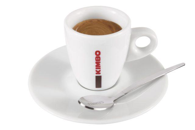 Una tazzina di espresso Kimbo