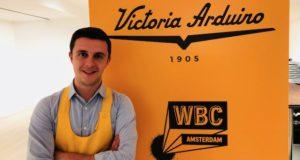 Davide Cavaglieri campione italiano baristi caffetteria 2018 e aspirante al titolo mondiale