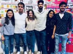 I sei designer dello Ied di Milano che hanno proposto i sei lavori del concorso indetto da Victoria Arduino al Milano Coffee Festival