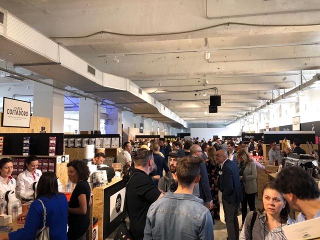 Milano coffee festival una veduta degli stand
