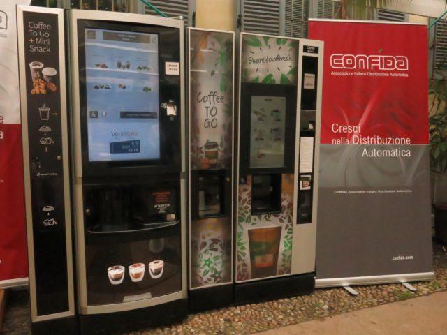 distributore automatico vending