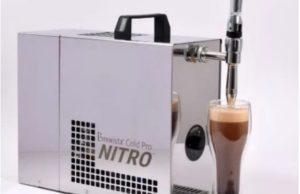 La macchina del caffè nitro cold brew proposta da Francesco Sanapo
