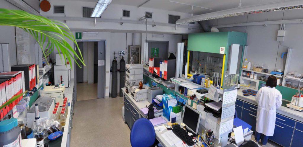 L'interno del Demus lab di Trieste accreditato per le analisi dell'acrilammide