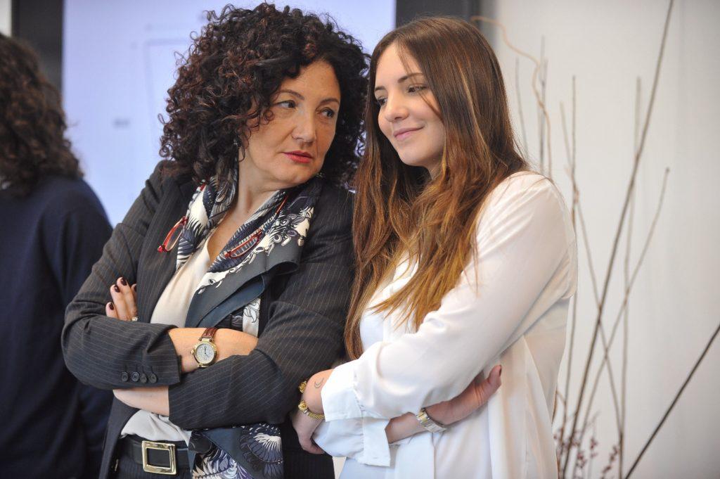 Fausta Colosimo con la figlia Antonia Trucillo