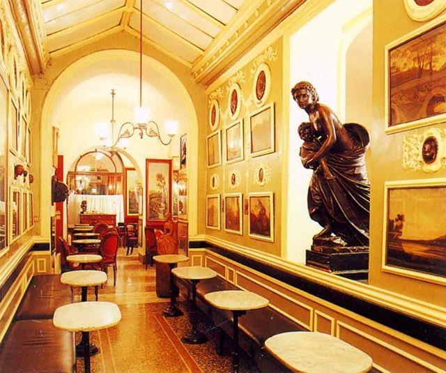 caffè storici Il Caffè Greco a Roma
