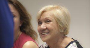 La Signora Lucia Musetti oggi presidente onorario della torrefazione Musetti di Pontenure a Piacenza