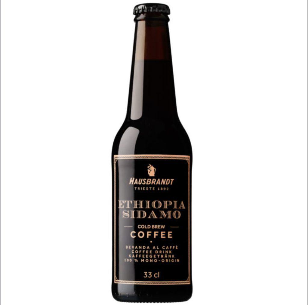 La bottiglia del Cold Brew Hausbrabdt realizzato con il caffè Ethiopia Sidamo