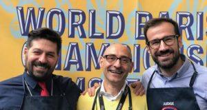 Ecco i tre giudici internazionali italiani: da sinistra Davide Cobelli, Lauro Fioretti ed Enrico Wurm