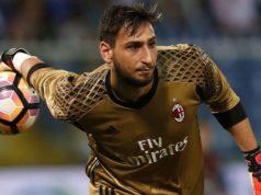 Il portiere del Milan Gianluigi Gigio Donnarumma