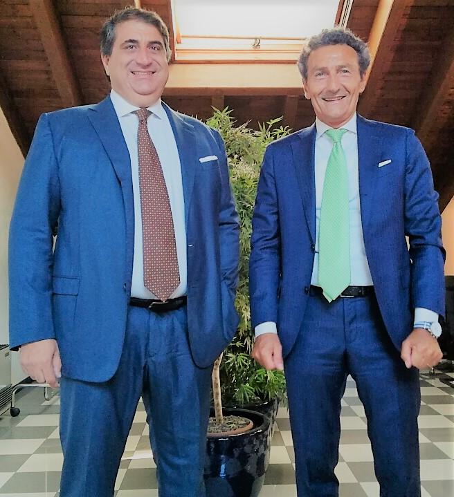 Da sinistra, Antonio Tartaro e Andrea Zocchi rispettivamente amministratore delegato di Ivs e amministrat