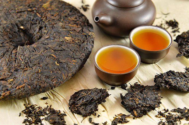 Tè nero fermentato Pu-ehr pregiatissimo e raffinato