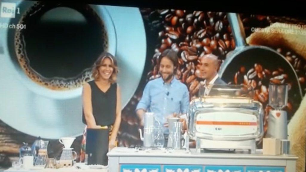 Andrej Godina ha parlato di caffè a La Vita in diretta