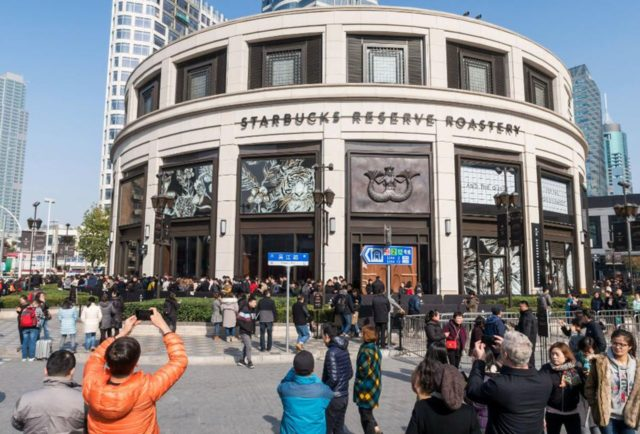 Starbucks Cina La Starbucks Reserve Roastery di Shanghai