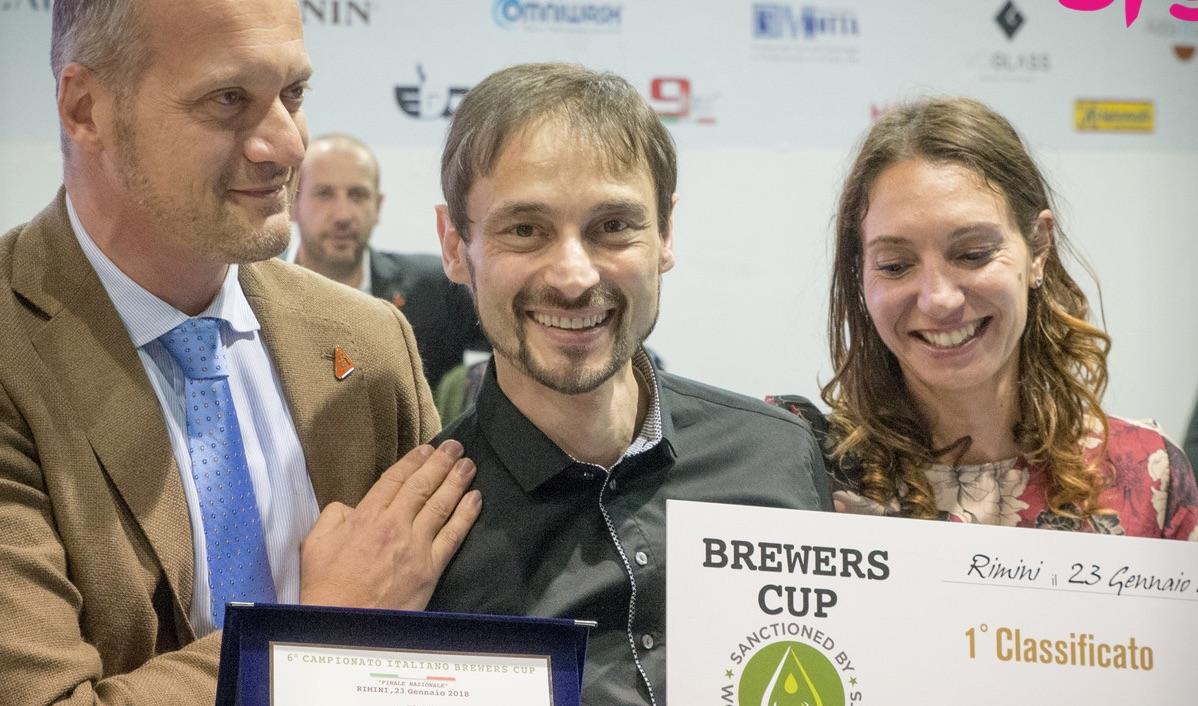 Premiazione Campione Brewers Cup Alessandro Galtieri (photo SIGEP)
