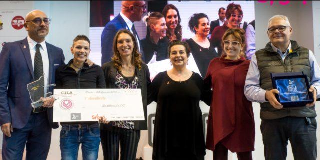 Premiazione Campionessa Latte Art Manuela fensore (photo Sigep)