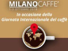 La locandina di MilanoCaffè 2018 in formato orizzontale