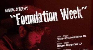 Mumac Academy: la locandina con il programma dei corsi della Foundation week