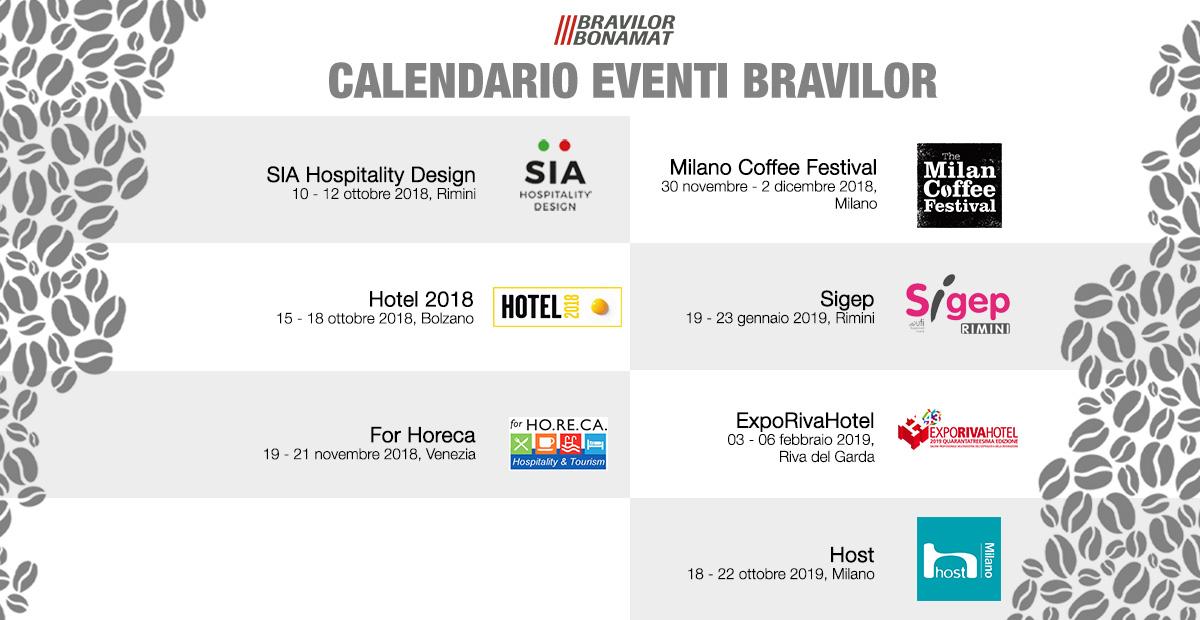 Milano Fiere Calendario.Bravilor Autunno Ricco Di Appuntamenti Per L Importante