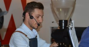 Giacomo Vannelli ha vinto la selezione per la finale di Rimini disputata alla Musetti coffee academy di Pontenure (Piacenza)