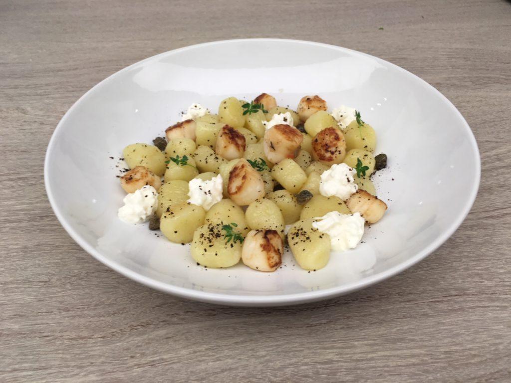Uno dei piatti preparati da Monica Bianchessi per MilanoCaffè