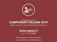 La locandina della tappa dei campionati italiani presso la Musetti Academy di Pontenure (Piacenza)
