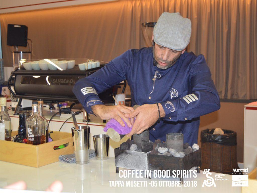 Marco Poidomani vincitore della selezione Coffee in good spirits