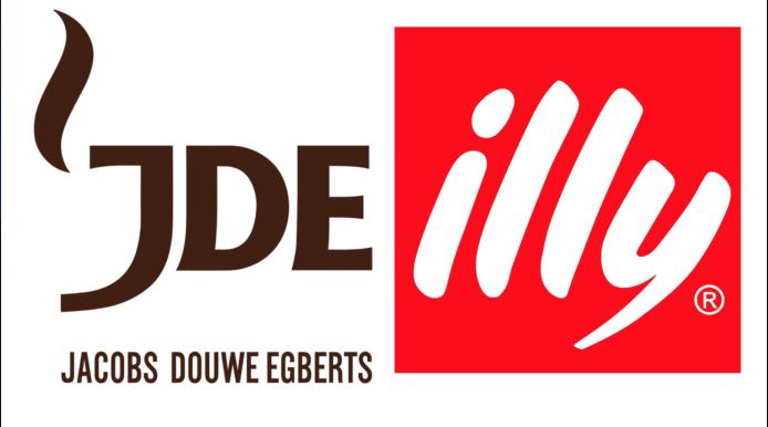 Il logo dell'accordo Jde-illycaffè