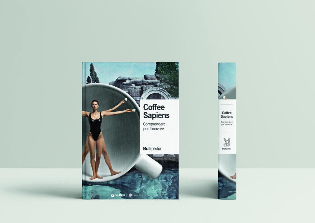 La copertina del libro Coffee sapiens che fa parte della biblioteca di Bullipedia di cui è artefice Ferran Adrià