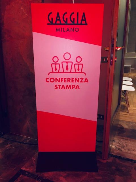 Evoca: conferenza stampa Gaggia Milano