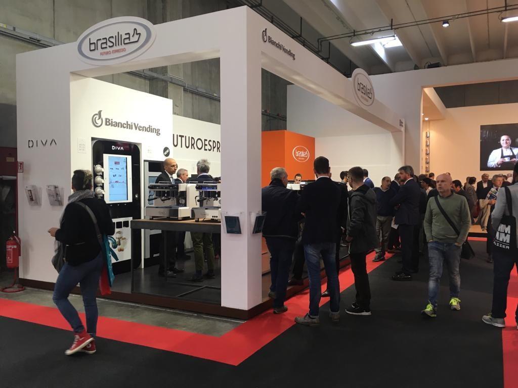 Lo stand della Braslia a TriesteEspresso 2018