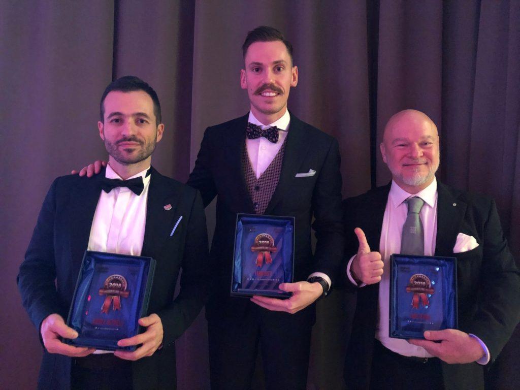 Da sinistra Andrea Antonelli, Fabio Dotti e Fabio Verona