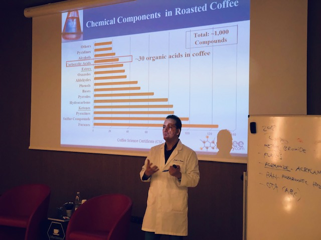Coffee chemistry Joseph Rivera