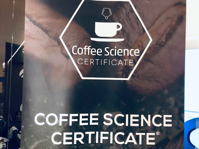 Coffee Science Certificate
