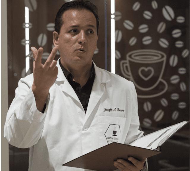 Joseph Rivera, docente del Coffee science certificate livello 2 (foto di Fabio Falcioni)
