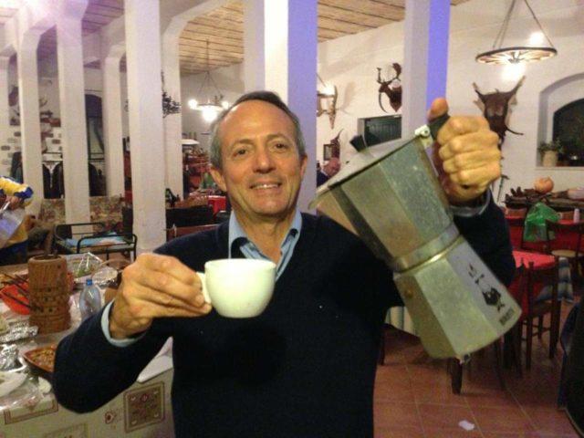 آنتونیو کوارتا رئیس جمهور و مدیر عامل کوارتا کافه در لچه