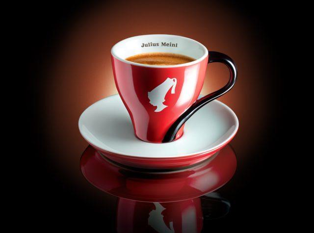 Julius Meinl Aroma Gusto La classica tazzina con il logo di Julius Meinl