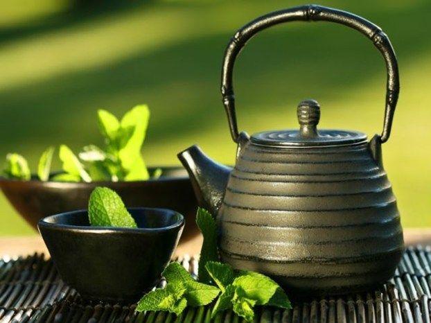 tè verde preparazione