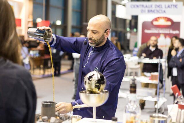 Fiumicino Poidomani Il campione italiano di Coffee In Good Spirits Marco Poidomani