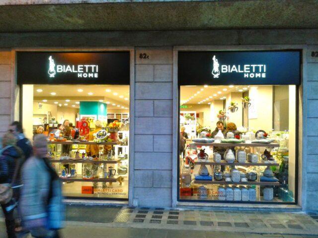Il Bialetti Store di Piazza Cola di Rienzo a Roma