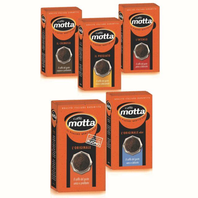 La gamma di macinati di CAffè Motta