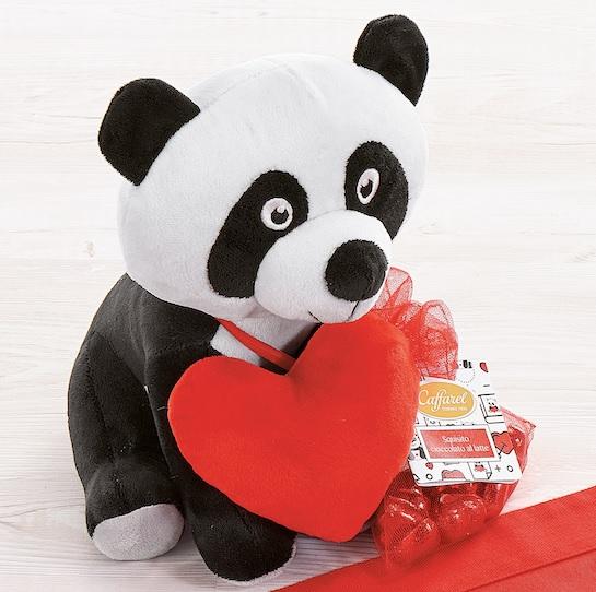 Il peluche della Linea Panda Love