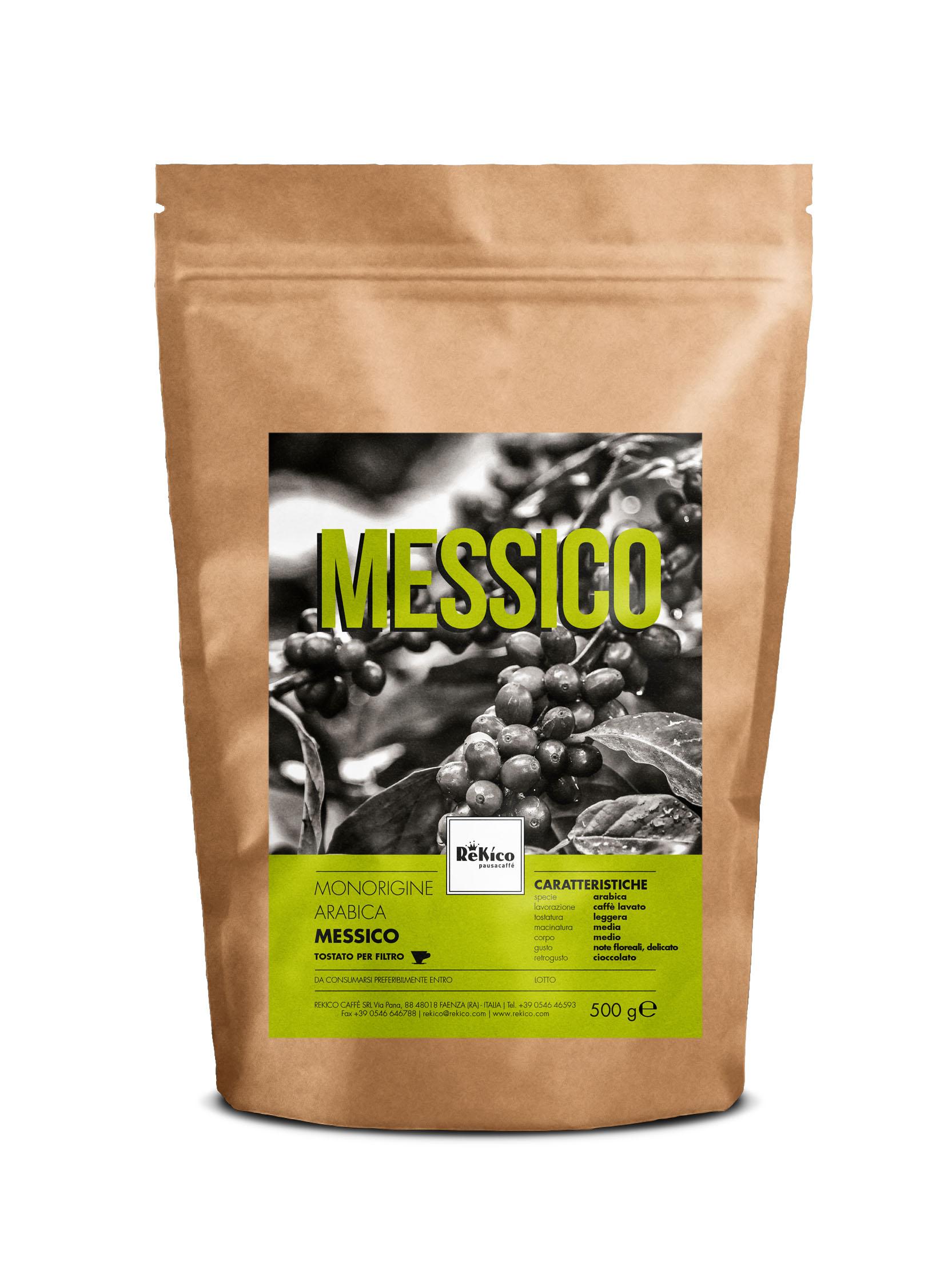 Il monorigine Messico per il caffè filtro