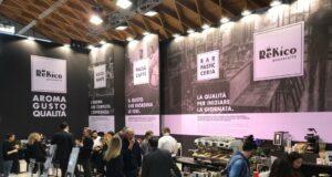 Lo stand di Rekico Caffè al Sigep di Rimini